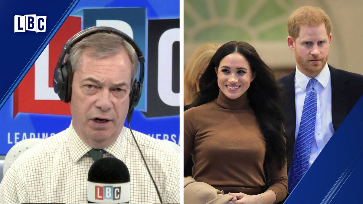 Nigel Farage fumes at Meghan and Harry shunning their titles