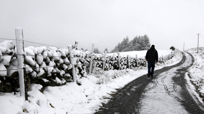 Parts of Scotland are set to see a covering of snow