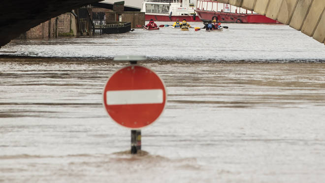 Worcester has been one of the areas badly hit by flooding