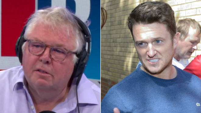Nick Ferrari discussed Tommy Robinson