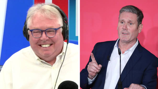 Nick Ferrari asked Sir Keir Starmer what the most exciting thing he'd ever done is