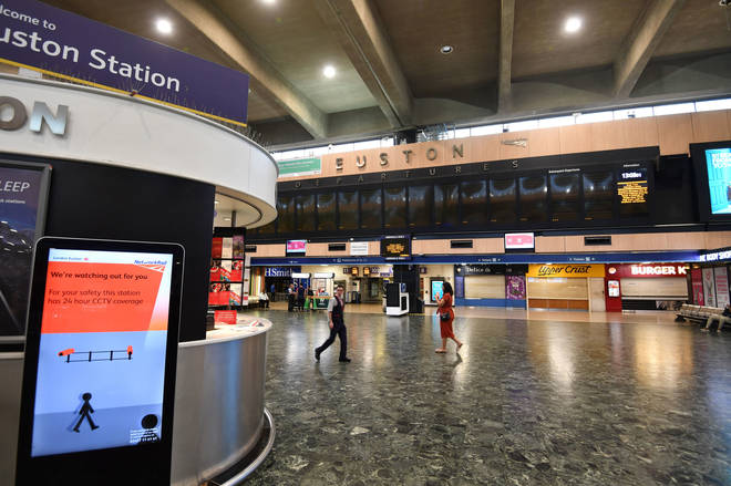 Euston is one of London's busiest stations