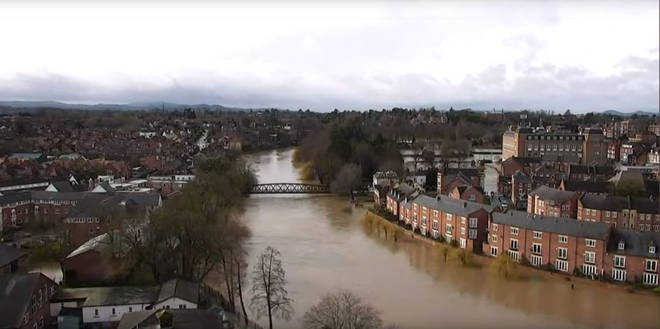 The river is heading towards its highest levels in 20 years
