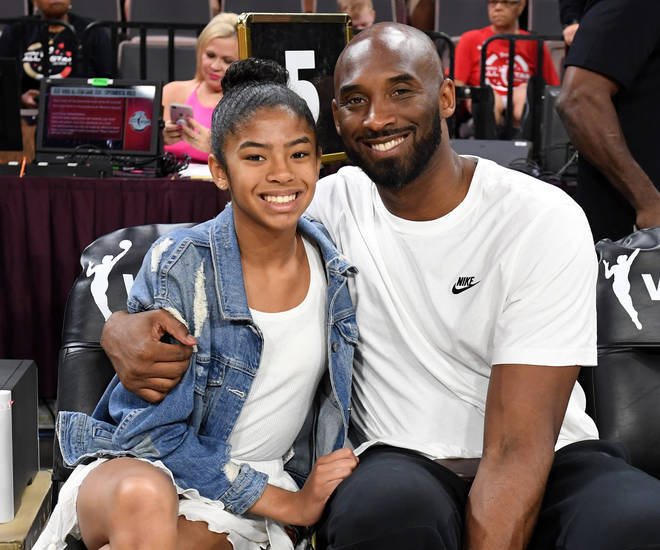 Kobe died alongside daughter Gianna