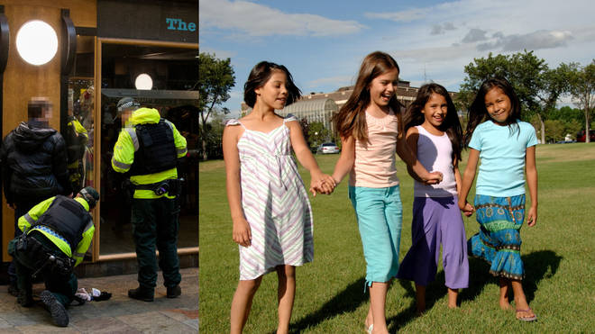 The charity boss has said police should stop and search more young girls and women