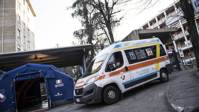 Northern Italy is under a coronavirus lockdown.