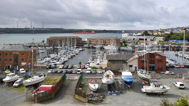 Milford Haven - a once-thriving Welsh fishing community that turned into one of the poorest corners of Europe