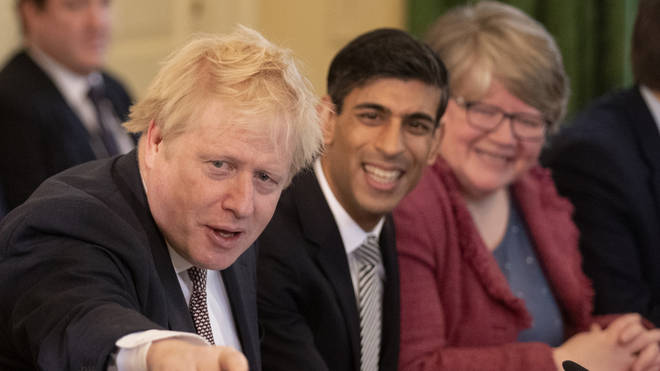 Mr Sunak was promoted as Chancellor by Boris Johnson after his predecessor resigned