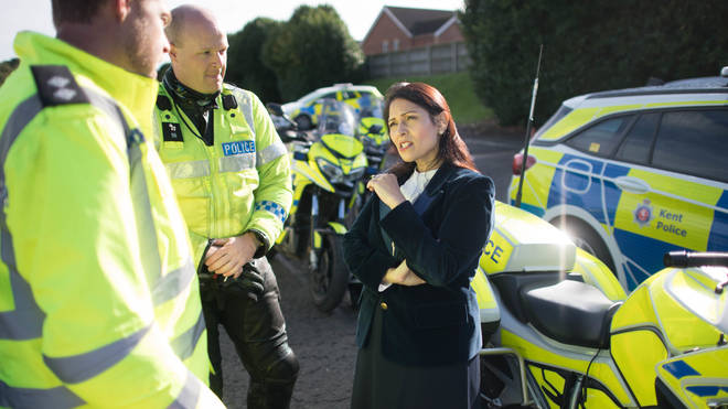 The Home Secretary is the Minister responsible for policing
