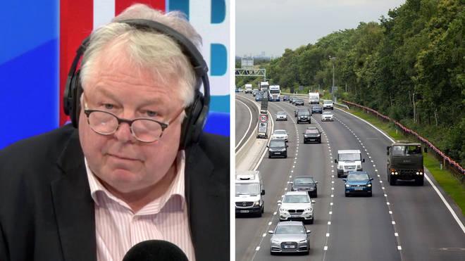 Nick Ferrari heard why smart motorways need to be scrapped