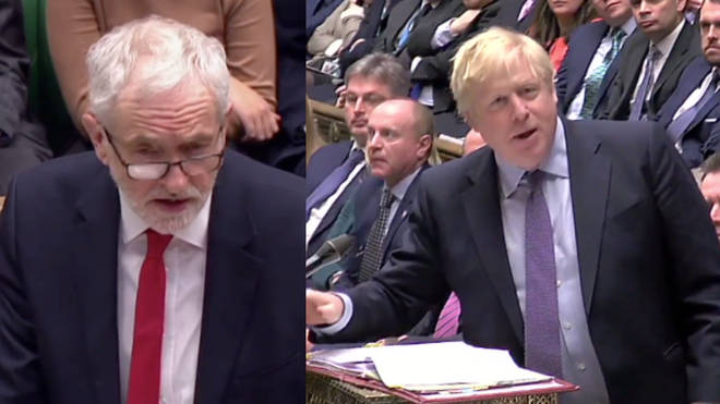 The Labour Leader hit out at the PM during Prime Minister's Questions