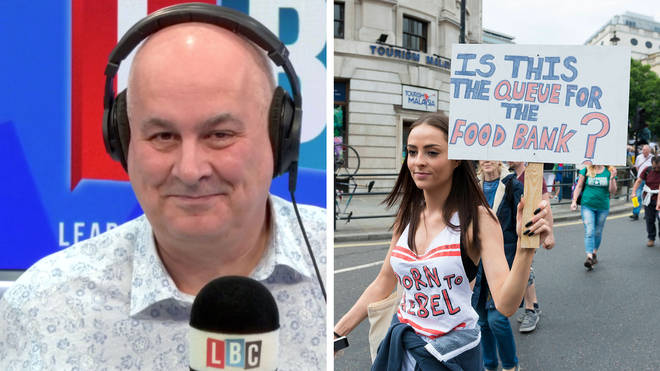 Iain Dale challenged the man who said austerity is to blame for the reduction in life expectancy