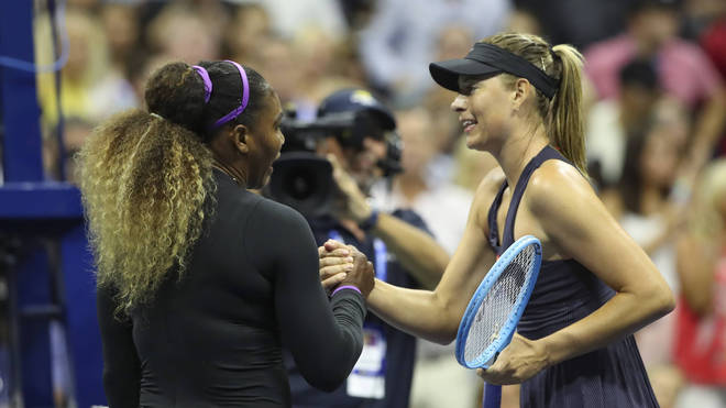Sharapova only won two of her 22 battles against Serena Williams