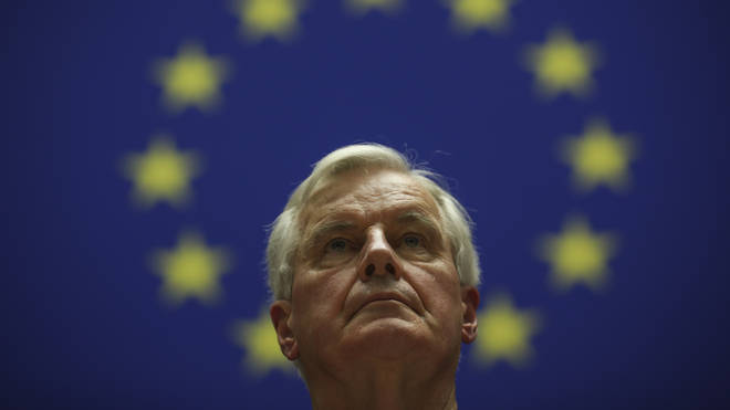 "Mr Barnier said he was ready to offer the UK ""super-preferential"" treatment"