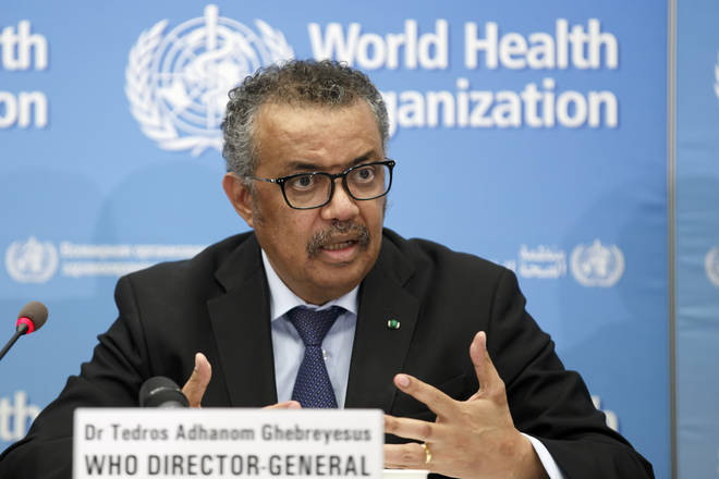 Tedros Adhanom Ghebreyesus, director-general of the WHO has so far the spread has not reached pandemic proportions