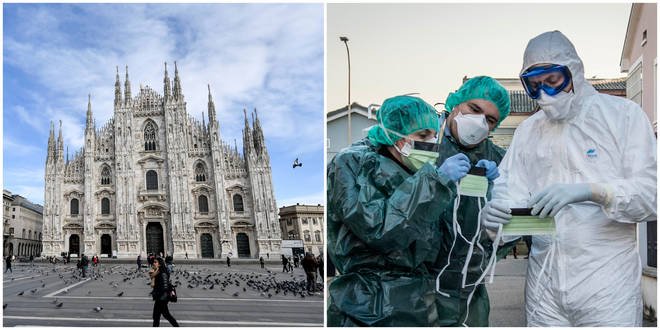 Italy has asked for help in dealing with the coronavirus
