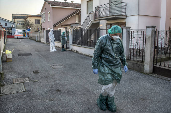 Northern Italy is in the grip of the Covid-19 coronavirus