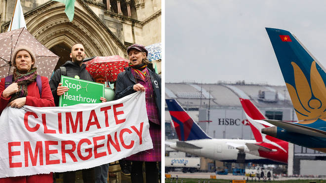 Climate change campaigners win Court of Appeal ruling over Heathrow third runway
