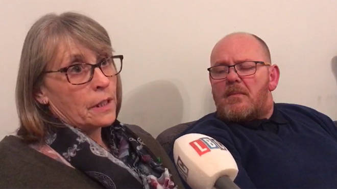 Harry Dunn's father and stepmother told today that they have not been able to properly grieve for him
