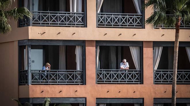 Tenerife hotel in lockdown over coronavirus fears