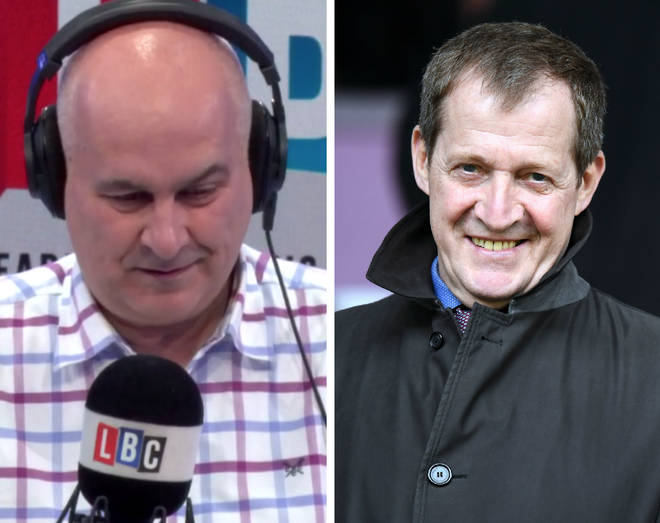 Alastair Campbell joined Iain Dale on Friday afternoon