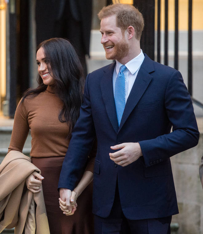 The couple were last seen publicly in the UK at Canada House in London