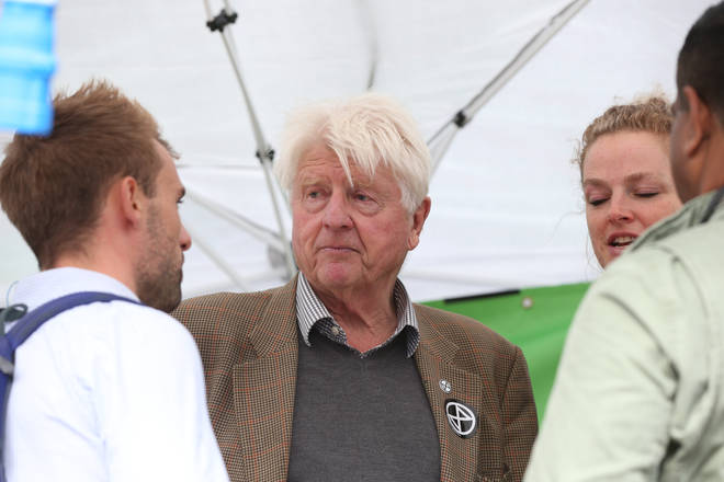 They were neighbours of Boris Johnson's dad Stanley