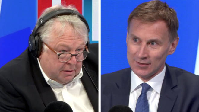 Nick Ferrari spoke to Jeremy Hunt about the spread of coronavirus