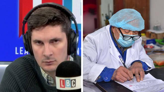 Tom Swarbrick heard from a GP who was very worried about coronavirus