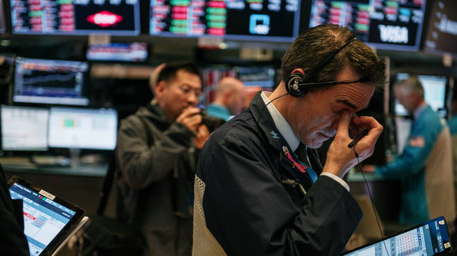 Global stock markets have plunged in response to the coronavirus outbreak
