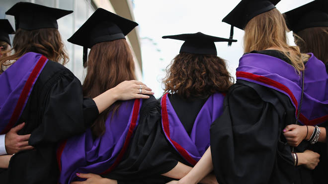 University graduates earn around £3,000 more with a degree than without