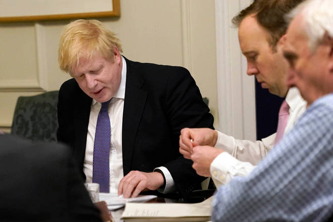 "Boris Johnson said coronavirus is the government&squot;s ""top priority"""