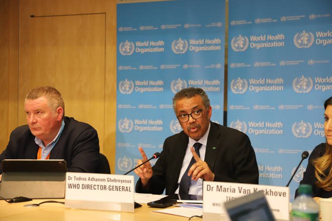 Dr Tedros Ghebreyesus said the virus could become a global pandemic