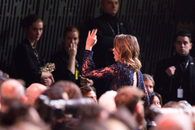 Actress Adele Haenel walked out