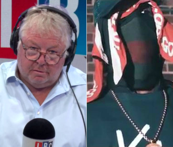 Nick Ferrari spoke to a drill music producer