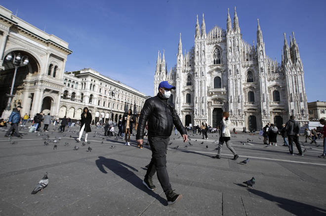 Some European cities have already closed amenities such as universities and supermarkets