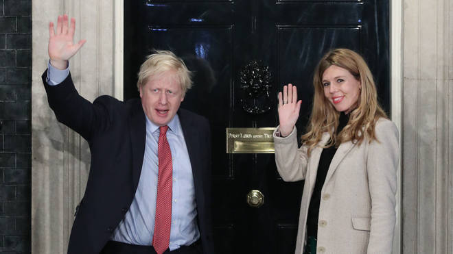 Boris Johnson and Carrie Symonds are expecting a baby together
