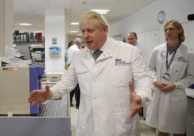 "Boris Johnson has announced the ""battle plan"""