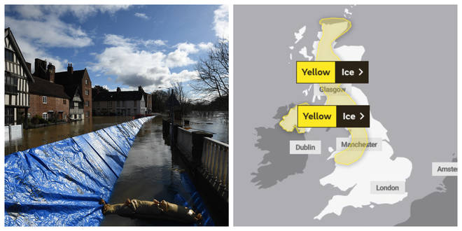 Yellow weather warnings are still in place