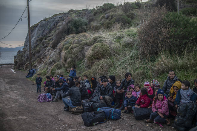 Turkey opened its borders to Europe for refugees