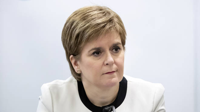 Scottish First Minister Nicola Sturgeon confirmed that a patient had been infected