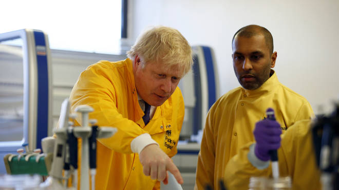 Earlier today Mr Johnson said it was likely the virus would spread more