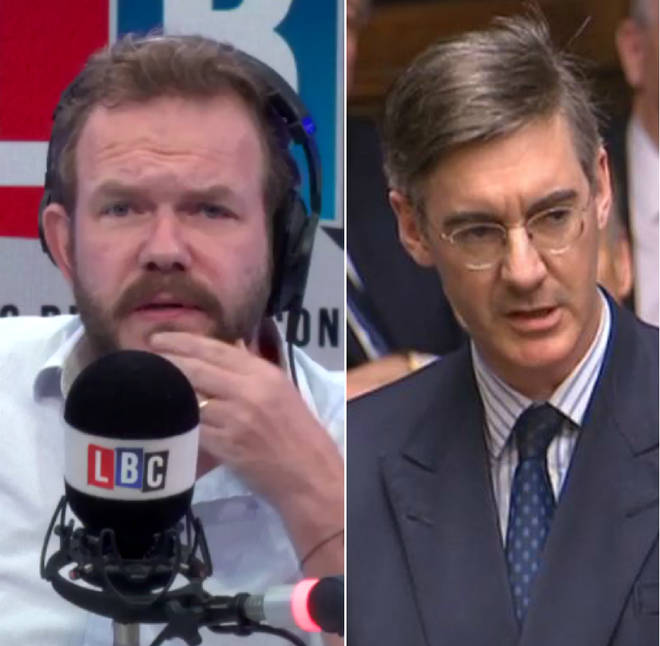 James O'Brien played a 2011 clip of Jacob Rees-Mogg