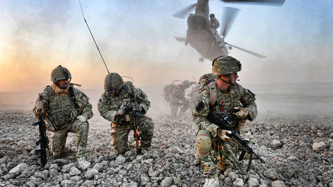 Operation Herrick is the codename under which all British operations in the War in Afghanistan were conducted from 2002