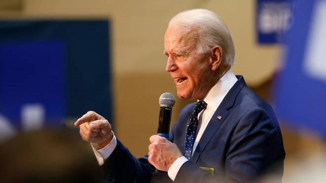 Joe Biden scored a resounding victory in South Carolina on Saturday