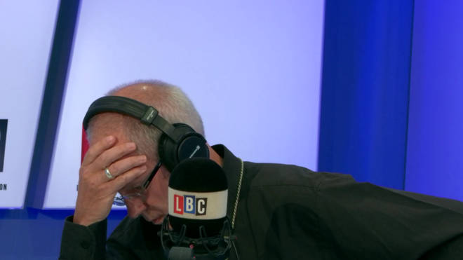 Archbishop Justin Welby live on LBC