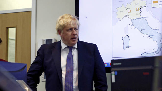 Boris Johnson told people to wash their hands for 20 seconds