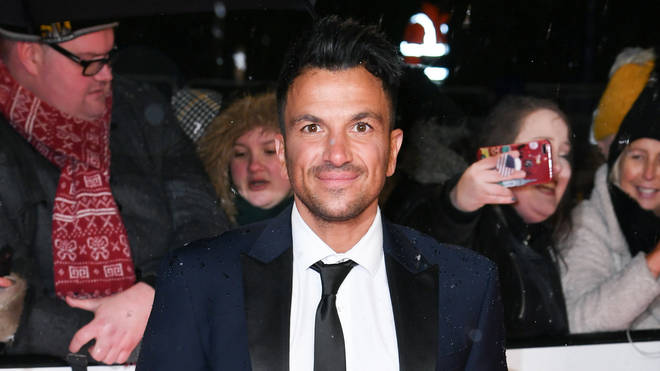 Peter Andre branded the incident a 'wind up'