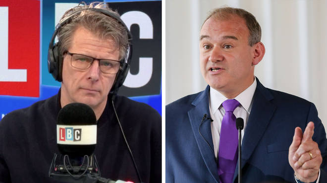 Andrew Castle spoke to Ed Davey