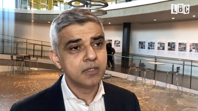 Sadiq Khan spoke to LBC about not being invited to a Cobra meeting about coronavirus